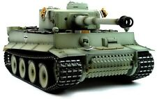 Taigen dipinto a mano RC TANK precoce Version Tiger I Grey MIMETICO-Full Metal Upgrade
