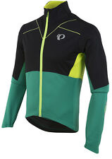 Pearl Izumi 2017 P.R.O. Pursuit Softshell Bike Jacket Black/Pepper Green Medium