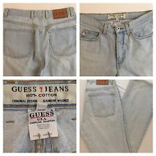 Vintage Guess Jeans Womens Sz 30 Original Design Garment Washed USA Made Cotton