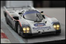 CODEX Finish Line + NIGHT VERSION PORSCHE 962c #1 Le Mans 1986  Norev 1:18