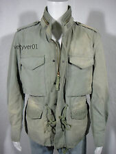 New RALPH LAUREN D&S M65 Military Vintage Rugged Summer Field Jacket size XL