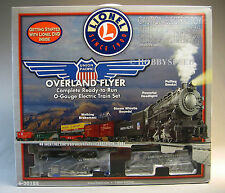 LIONEL UP OVERLAND FLYER SET o gauge train engine track transformer 6-30188  NEW