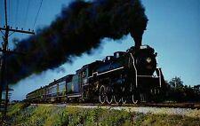 CNR 4-6-2 No. 5299 Locomotive Port Credit Ontario Canada Railroad Train Postcard