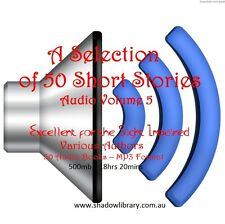 CD - 50 Short Stories Audio Books Vol 5 - Sight Impaired, Blind  - Resell