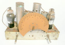 vintage * SENTINEL 5 TUBE 32 volt  CATHEDRAL RADIO part: UNTESTED CHASSIS