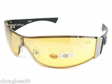 Indian Motorcycle Sunglasses Metal Wrap Yellow Mirror Lens Day & Night Driving