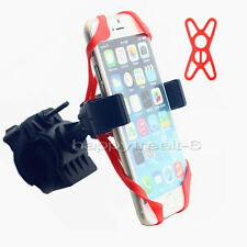 Black Motorcycle Bicycle Bike Handlebar Mount Holder For Samsung iPhone LG Phone