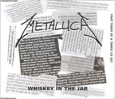 METALLICA - Whiskey in the Jar Part 3 ~ RARE CD SINGLE ~ NEW!!! - Garage Inc.