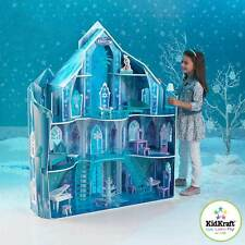 Disney® Frozen Snowflake Mansion Dollhouse + 19 Pieces of Doll Furniture