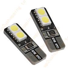 2pcs T10 6 LED SMD 5050 Canbus Error Free Car Tail/Turn Bulbs Warm White Light