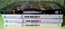 Lot of 3 FIFA Soccer 11  (Xbox 360, 2011) and 1xbox need for speed UNDERGROUND 2