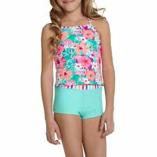 OP OCEAN PACIFIC Girls' 10/12 Waikiki 2 Pc. Tankini Swimsuit NWT