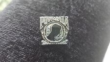 NEVER FORGET 1 MILITARY SERVICE  P.O.W.  M.I.A. PEWTER PIN ALL NEW.