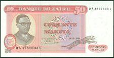TWN - ZAIRE 17b - 50 Makuta 14/10/1980 UNC DA-L - FREE SHIPPING over €150