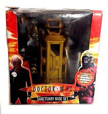 "BBC 1 TV DOCTOR WHO Sanactuary Base 5"" figure set UNUSED, BOX DAMAGED, RARE"