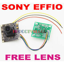 "700TVL 1/3""Sony EFFIO-E  CCD PCB Board Camera OSD Control Panel 6mm lens FPV889+"