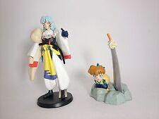 """InuYasha 2.3-3.5"""" Figure 2pcs Authentic Bandai Japan k#16000"""