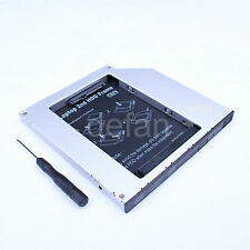 IDE to SATA 2nd HDD HARD DRIVE 9.5mm Caddy DVD Optical Bay For MAC NON-UNIBODY