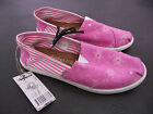 BNWT Older Girls/Ladies Sz 7 Rivers Doghouse Brand Pink/Floral Canvas Shoes
