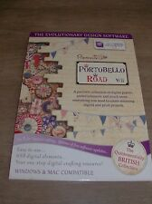 DOCRAFTS  PAPERMANIA PORTABELLO ROAD CARD MAKING PAPER CRAFT MAC PC CD ROM