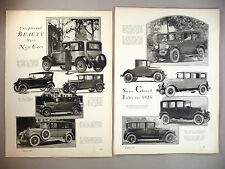 Motor Magazine Review of 1925 Model Cars MAGAZINE ARTICLE - 16 pages