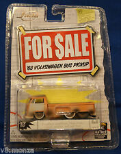 "'63 1963 VW Volkswagen Bus Pickup ""FOR SALE"" Series ☆ Jada 1/64 Scale Diecast"