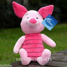 "WINNIE THE POOH & FRIENDS 14"" PLUSH STUFFED TOYS PIGLET SOFT DOLL THE PIG"