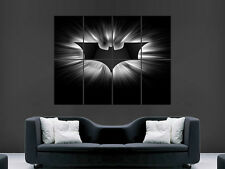 BATMAN SUPERHERO CALL SIGN COMIC  ART WALL LARGE IMAGE GIANT POSTER