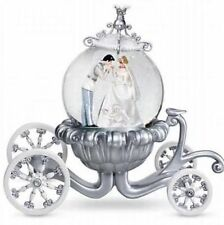 CINDERELLA and Prince Charming Wedding SNOWGLOBE Disney Parks SOLD OUT Rare
