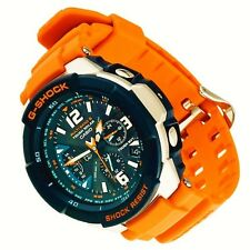 BRAND NEW CASIO G-SHOCK GW-3000M-4 SKY COCKPIT SOLAR ATOMIC ORANGE LIMITED NEW !