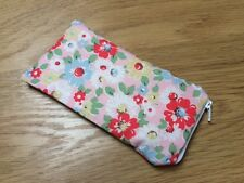 Cath Kidston Bright Pop Handmade Fabric Glasses Sunglasses Zipped Case Pouch