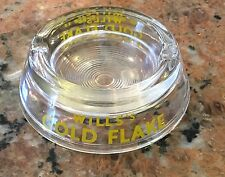 """Vintage Will's Gold Flake Tobacco Ash Tray 4"""""""