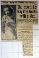 1953 Singer Diana Dekker Lovemaking In A Moving Car Is Dangerous