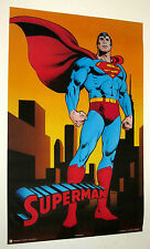 LOT OF 3 SUPERMAN POSTERS FROM 1989 DC COMICS VINTAGE AND RARE!