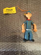 Vintage 1974 POPEYE Bendy/Jiggler Figures Ben Cooper New With Tag Super Rare