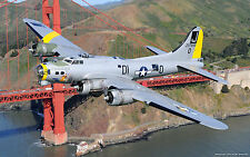 Giant 1/10 Scale B-17 FLYING FORTRESS scratch build R/c Plane Plans 125 in. WS