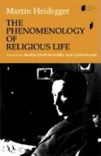 The Phenomenology of Religious Life (Studies in Continental Thought) (German Ed