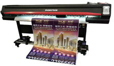 "1850mm 72"" Large Format ECO Solvent Printer DX5 Dual Heads+RIP,Outdoor&Indoor"