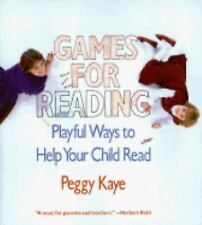 Games for Reading by Peggy Kaye (1984, PB) M-1