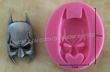 Batman Fondant Chocolate Clay Candy Jelly Silicone Mold Molder