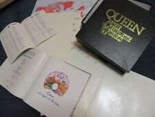 "QUEEN ""The Complete Works"" EMI QB1 - Rare 14 LP Box Set c/w Books & Poster - Exc"