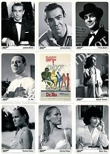THE COMPLETE JAMES BOND 2007 RITTENHOUSE ARCHIVES BASE CARD SET OF 189 MOVIE