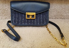 MARC BY MARC JACOBS Gold ChainCross Body Bag Small