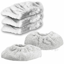 KARCHER SC1030 Steam Cleaner Terry Cloth Cover Pads Hand Tool Cleaning Pad x 5