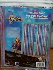 "Disney Hannah Montana Pole Top Panel- 42"" x 84"" - BRAND NEW IN PACKAGE"