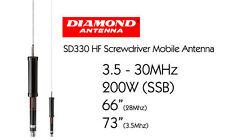 Antenna veicolare HF Diamond SD-330
