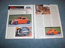 1933 Factory Five Racing Ford 3-Window Coupe Street Rod Article