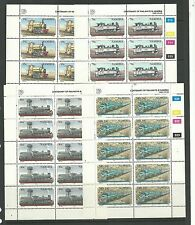 Namibia 1985 Railway Centenary SG657-60, Cat.£30+ mnh sheetlets.