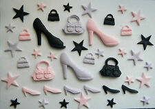 Shoes, Handbags and Stars Cake Decorations  (toppers to match in my ebay shop)
