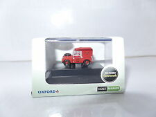 Oxford NLAN188004 N Gauge 1/148 Scale  Land Rover 88 Royal Mail Post Office Red
